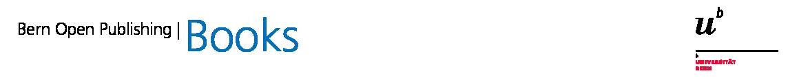 Logo für Bern Open PUblishing Books